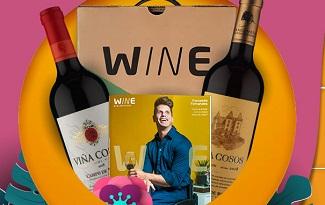 Cupom de 42% OFF no plano mensal nos 3 primeiros meses no site da Wine