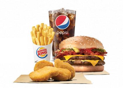Combo Cheeseburger Duplo Bacon por apenas R$ 18,90!