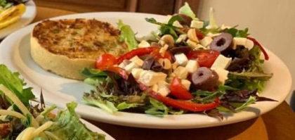 Quiche + Salada + Suco Natural por apenas R$20,00!