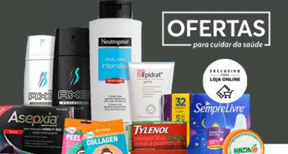 Aproveite 12% OFF em TODO O SITE da Drogaria São Paulo!