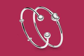 Ganhe Frete Grátis e um Bracelete Pandora em compras acima de R$799 no site da Pandora