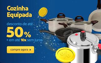 Cozinha Equipada: até 50% OFF em lista selecionada no site do Extra