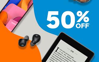 Até 50% OFF em seleção de Eletrônicos no site da C&A