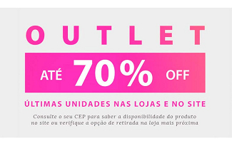 Outlet: aproveite até 70% OFF no site da Fast Shop