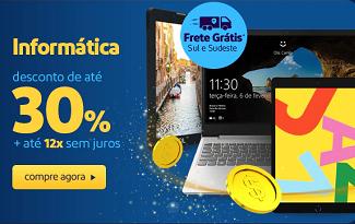 Até 30% OFF em lista selecionada de Informática no site do Extra