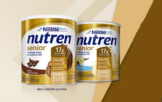 Até 40% OFF na segunda unidade de Nutren Senior no site da Droga Raia