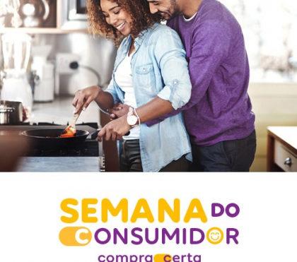 Acesso gratuito ao Clube de Compra Certa + R$100 de desconto na semana do consumidor!