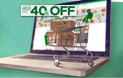 Semana do consumidor: até 40% OFF em produtos no site Zona Cerealista