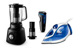 Até 20% OFF em produtos Philips Walita no site da Fast Shop