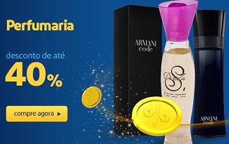 Até 40% OFF em lista selecionada Perfumaria no site do Extra
