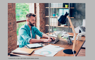 Monte seu Home Office completo com as ofertas do site da Fast Shop