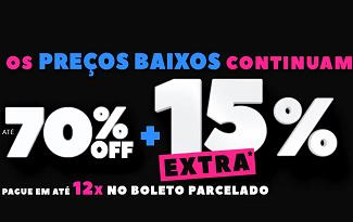 BLACK MARA: Até 70% OFF + Cupom de 15% OFF em compras acima de R$599 no site da Marabraz