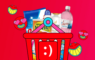 Faça suas compras de mercado sem sair de casa no site da Americanas
