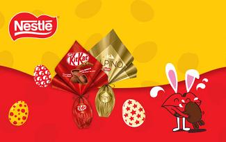 Cupom de R$10 OFF nas ofertas de Páscoa Nestlé no site da Americanas