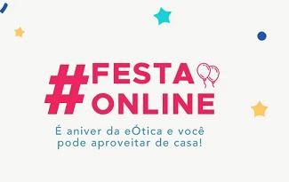 Até 75% OFF + Cupom de 10% OFF EXTRA em seleção Festa Online no site da eÓtica