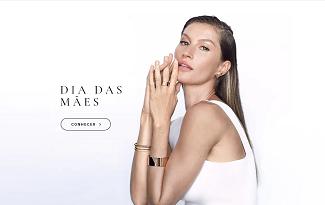 Confira as ofertas de Dia das Mães com Frete Grátis no site da Vivara
