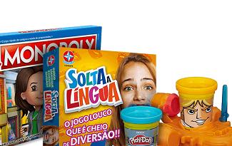 Até 40% OFF na categoria Brinquedos e Jogos no site da Casas Bahia