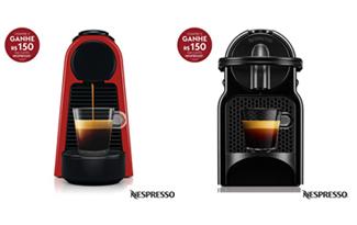 Compre sua máquina Nespresso Spring e ganhe R$150 em cafés no site da Fast Shop
