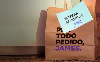 Aproveite Frete Grátis na sua primeira compra no James!