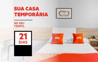 Ganhe 40% OFF em reservas com mínimo de 21 noites no site da OYO Hotéis