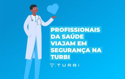 Transporte gratuíto para quem salva vidas: Turbi libera aluguel de carros gratuito para profissionais da saúde.