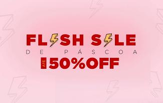 Até 50% OFF + Cupom de Frete Grátis em Flash Sale no site da Oppa