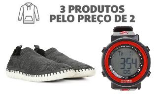 Compre 3 produtos preço de 2 em lista selecionada no site da Netshoes