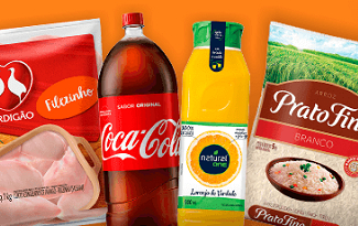 Faça suas compras de supermercado online e receba em casa no site do Carrefour