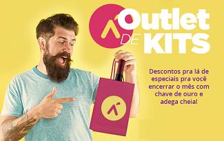 Outlet de Kits com até 52% OFF no site da Vinho Fácil