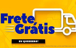 Aproveite Frete Grátis para São Paulo em produtos selecionados no site da Marabraz