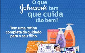 Aproveite 20% OFF em lista Johnson Rotina do Bebê no site da Drogarias Pacheco