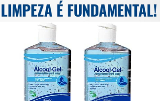 Até 40% OFF em lista de Álcool em Gel 70 no site da Okulos