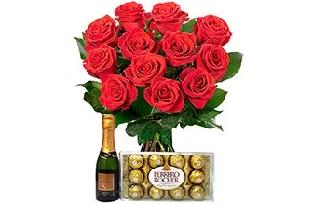 Ganhe R$20 OFF em lista Ferrero Rocher para o Dia dos Namorados no site da Giuliana Flores