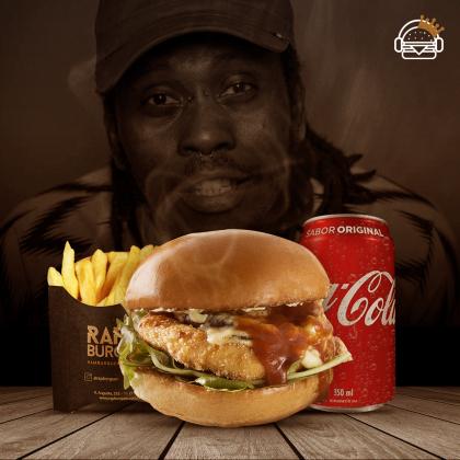 Burger Veggie Rincon Sapiência + Fritas + Refrigerante por R$35