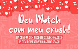 Compre 4 e pague 3 em seleção de Dia dos Namorados no site da Piticas