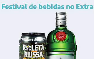 Aproveite o Festival de Bebidas com até 30% OFF no site do Extra
