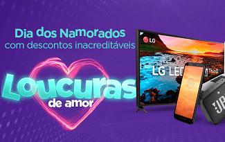 Confira as ofertas para o Dia dos Namorados no site da Casas Bahia