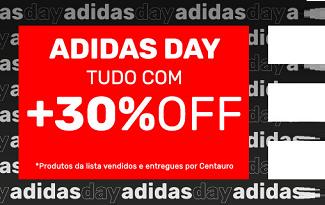 Cupom de 30% OFF em lista Adidas Day no site da Centauro