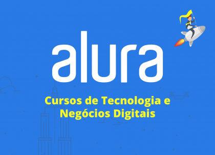 Desconto de 10% em todos os planos da plataforma Alura Online!