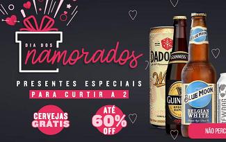 Confira as ofertas para o Dia dos Namorados com até 60% OFF no site Clube do Malte