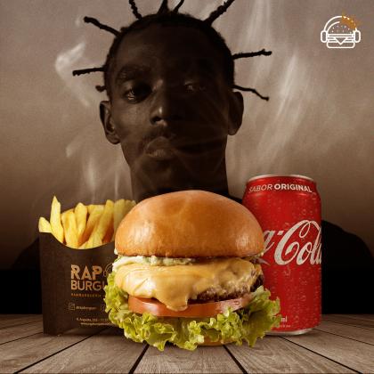 Burger Sabotage + Fritas + Refrigerante por R$35