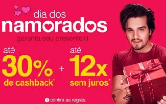 Ganhe até 30% de Cashback em ofertas de Dia dos Namorados no site da Americanas