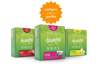 Confira a oferta de Compre e Ganhe no site da Desinchá