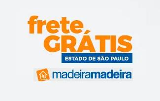 Aproveite as ofertas com Frete Grátis para São Paulo no site da MadeiraMadeira