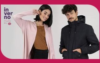 Até 50% OFF + 10% OFF EXTRA + FRETE GRÁTIS em lista Looks Quentinhos no site da C&A
