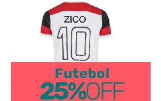 Cupom de 25% OFF em lista de artigos de Futebol no site do Centauro