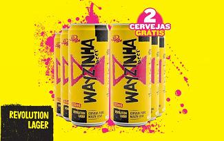 Compre 4 Cervejas Wayzinha e Leve 6 no site do Clube do Malte