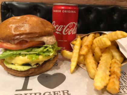 Burger Angus + Fritas Crinkle + Coca-Cola por R$35