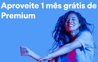 Aproveite 1 mês grátis de Premium no Spotify