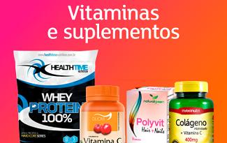 Até 30% OFF em lista selecionada de Vitaminas e Suplementos no site da Shoptime